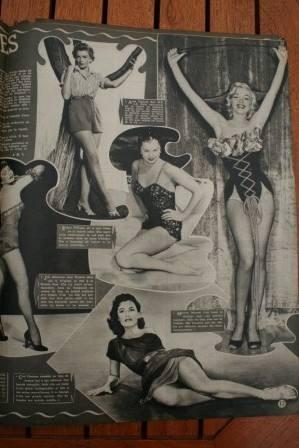 Marilyn Monroe Cyd Charisse Deborah Kerr