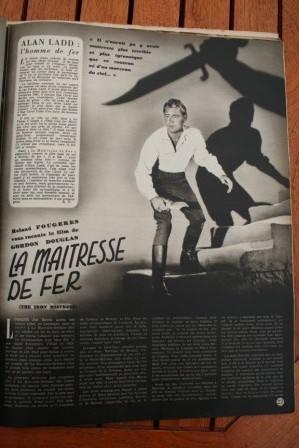 Alan Ladd Virginia Mayo The Iron Mistress