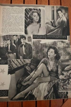 Yvonne De Carlo Jean Simmons Pier Angeli