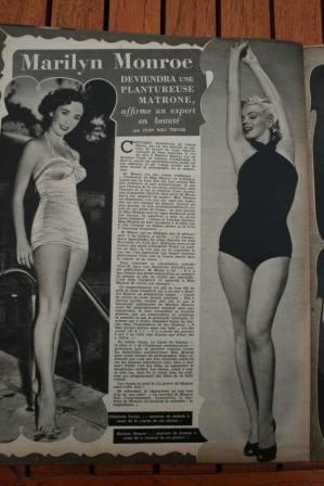 Marilyn Monroe Liz Taylor
