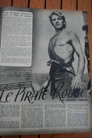 Burt Lancaster Eva Bartok The Crimson Pirate