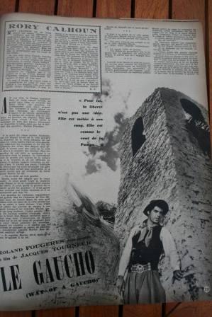 Rory Calhoun Gene Tierney Way Of A Gaucho