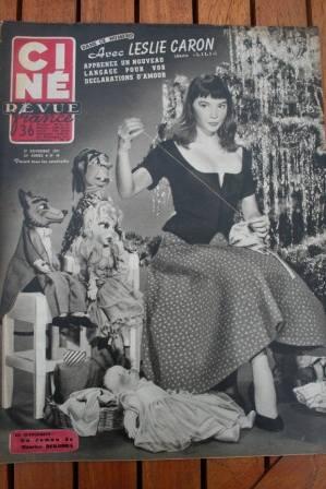 Leslie Caron Puppets