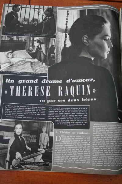Simone Signoret Raf Vallone Therese Raquin