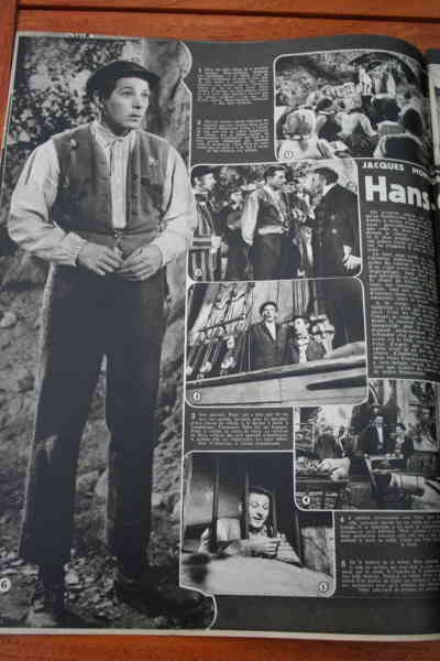 Zizi Jeanmaire Danny Kaye Farley Granger
