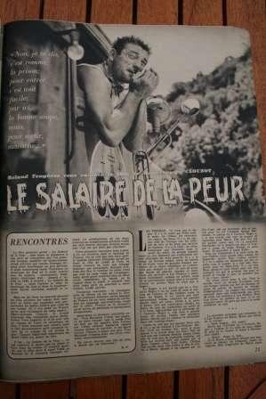 Yves Montand Vera Clouzot Le Salire De La Peur