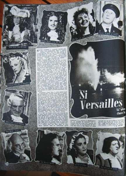 Si Versailles M'Était Conté Sacha Guitry