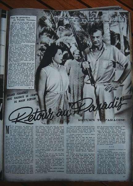 Roberta Haynes Gary Cooper Barry Jones