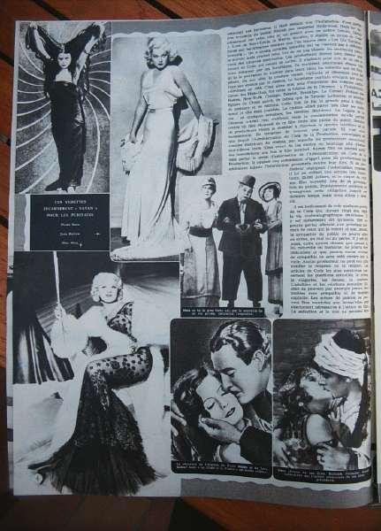 Theda Bara Jean Harlow Mae West