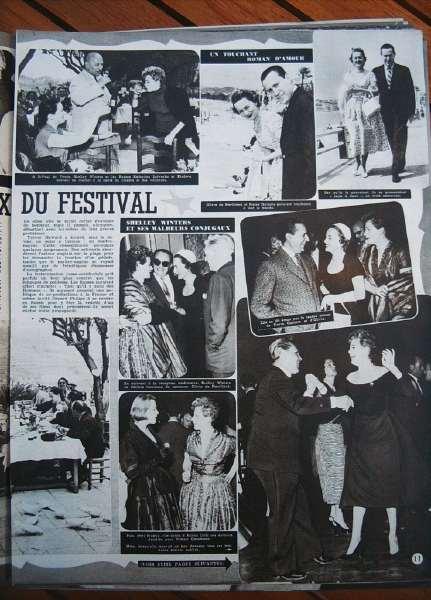Festival De Cannes 1954
