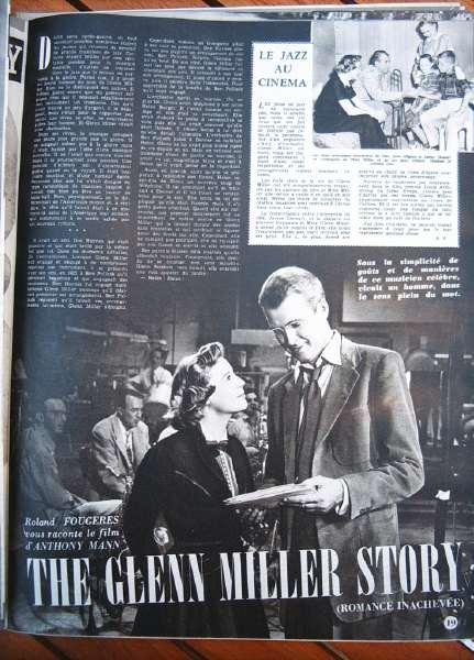 James Stewart June Allyson Glenn Miller Story