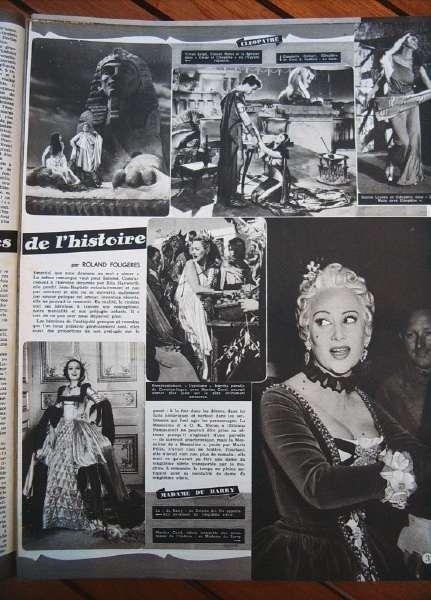 Vivien Leigh Martine Carol Dolores Del Rio