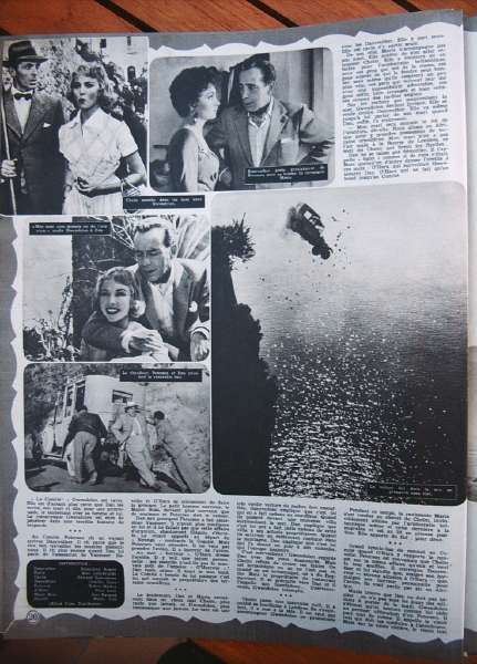 Humphrey Bogart Gina Lollobrigida