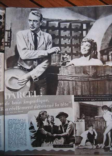 Gary Cooper Denise Darcel