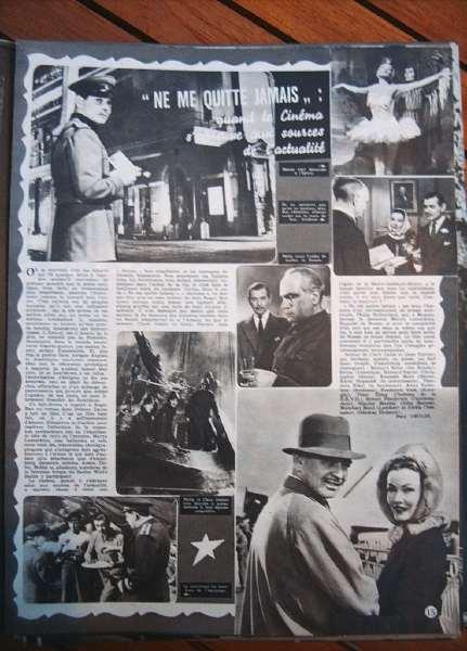 Gene Tierney Clark Gable