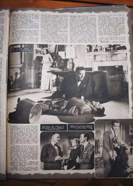 Grace Kelly Ray Milland Hitchcock