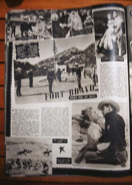 William Holden Eleanor Parker Escape Fort Bravo)