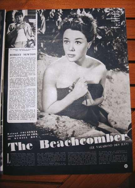 Glynis Johns Robert Newton The Beachcomber