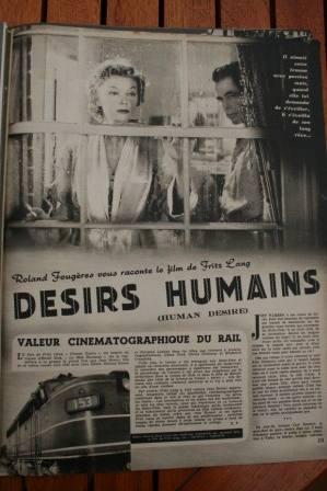 Glenn Ford Gloria Grahame Human Desire