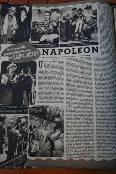 Napoleon Sacha Guitry Raymond Pellegrin Dany Robin