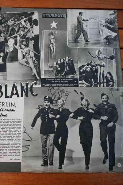 Vera Ellen Danny Kaye Bing Crosby