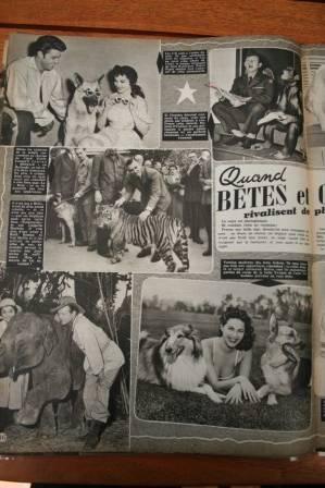 Debra Paget Clark Gable Yvonne De Carlo