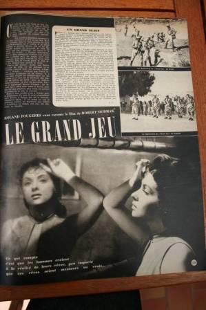 Gina Lollobrigida Jean Claude Pascal