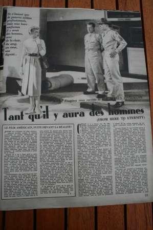 Burt Lancaster Montgomery Clift Deborah Kerr