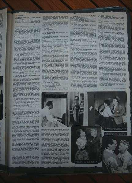Ginger Rogers Gene Tierney Van Heflin Black Widow