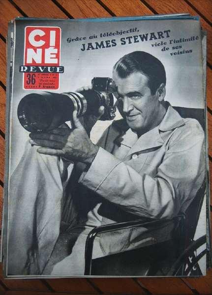 James Stewart Rear Window