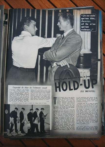 Tony Curtis Julie Adams Hold-Up