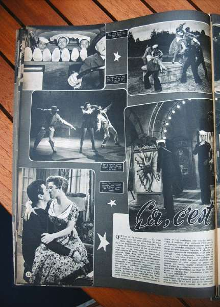 Tony Curtis Gloria De Haven Gene Nelson