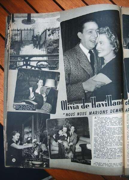 Olivia De Havilland Pierre Galante