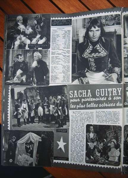 Raymond Pellegrin Napoleon Sacha Guitry