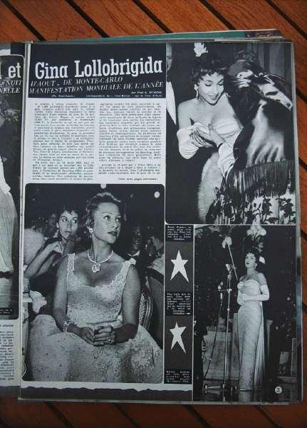 Gina Lollobrigida Martine Carol