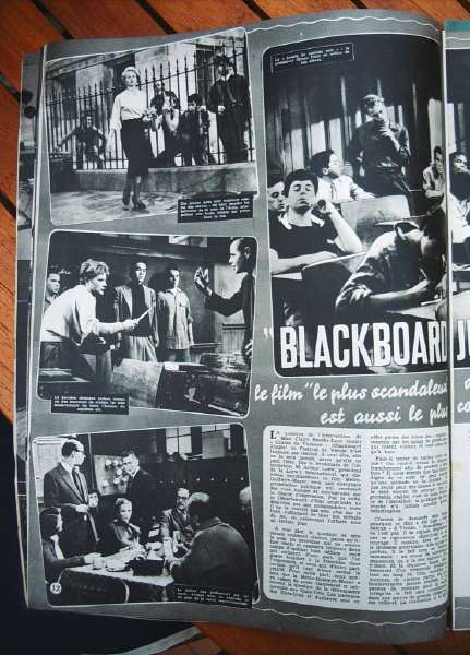 Anne Francis Glenn Ford Blackboard Jungle