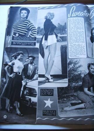 Lana Turner Mamie Van Doren Sophia Loren