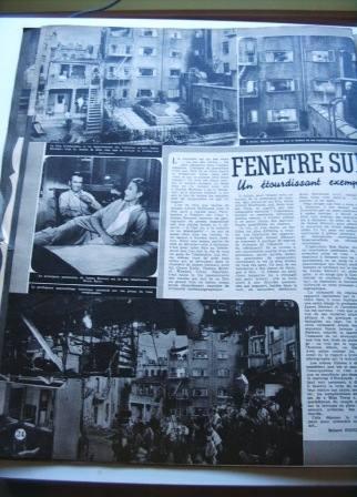 Grace Kelly James Stewart Hitchcock Rear Window