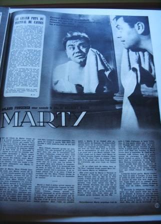 Ernest Borgnine Betsy Blair Marty