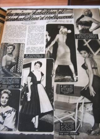 Mitzi Gaynor Jane Powell Marilyn Monroe R. Moreno