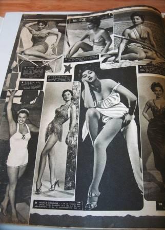 Cyd Charisse Lana Turner Esther Williams J. Crain