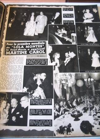 Martine Carol Lola Montes