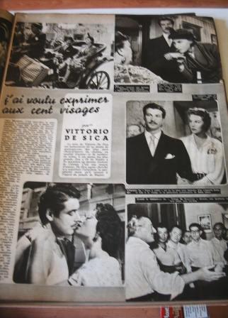 Sophia Loren Erno Crisa Vittorio De Sica