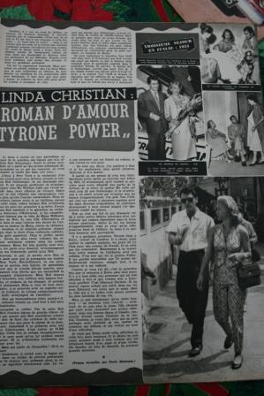 Tyrone Power Linda Christian