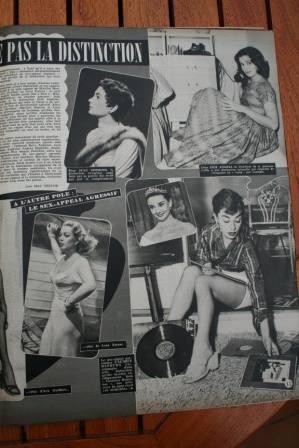Audrey Hepburn Pier Angeli Lana Tunrer