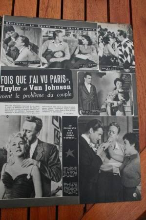 Liz Taylor Van Johnson