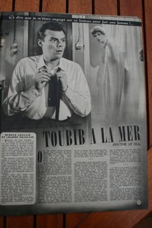 Brigitte Bardot Dirk Bogarde Doctor At Sea