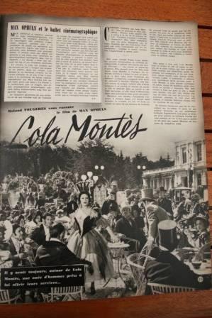 Martine Carol Peter Ustinov Lola Montes