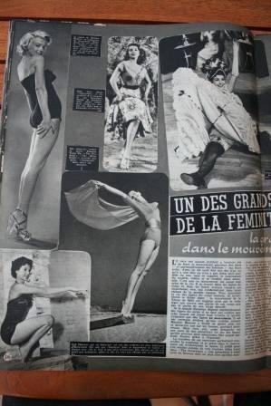 Marilyn Monroe Abbe Lane Cyd Charisse Taina Elg