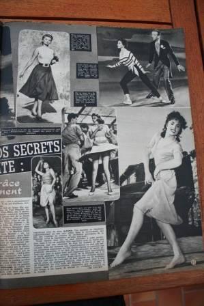 Gina Lollobrigida Sophia Loren Leslie Caron
